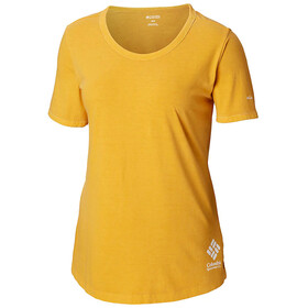 Columbia CSC Pigment T-Shirt Femme, raw honey